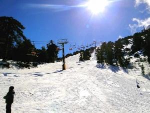 Troodos Skiing Mountains